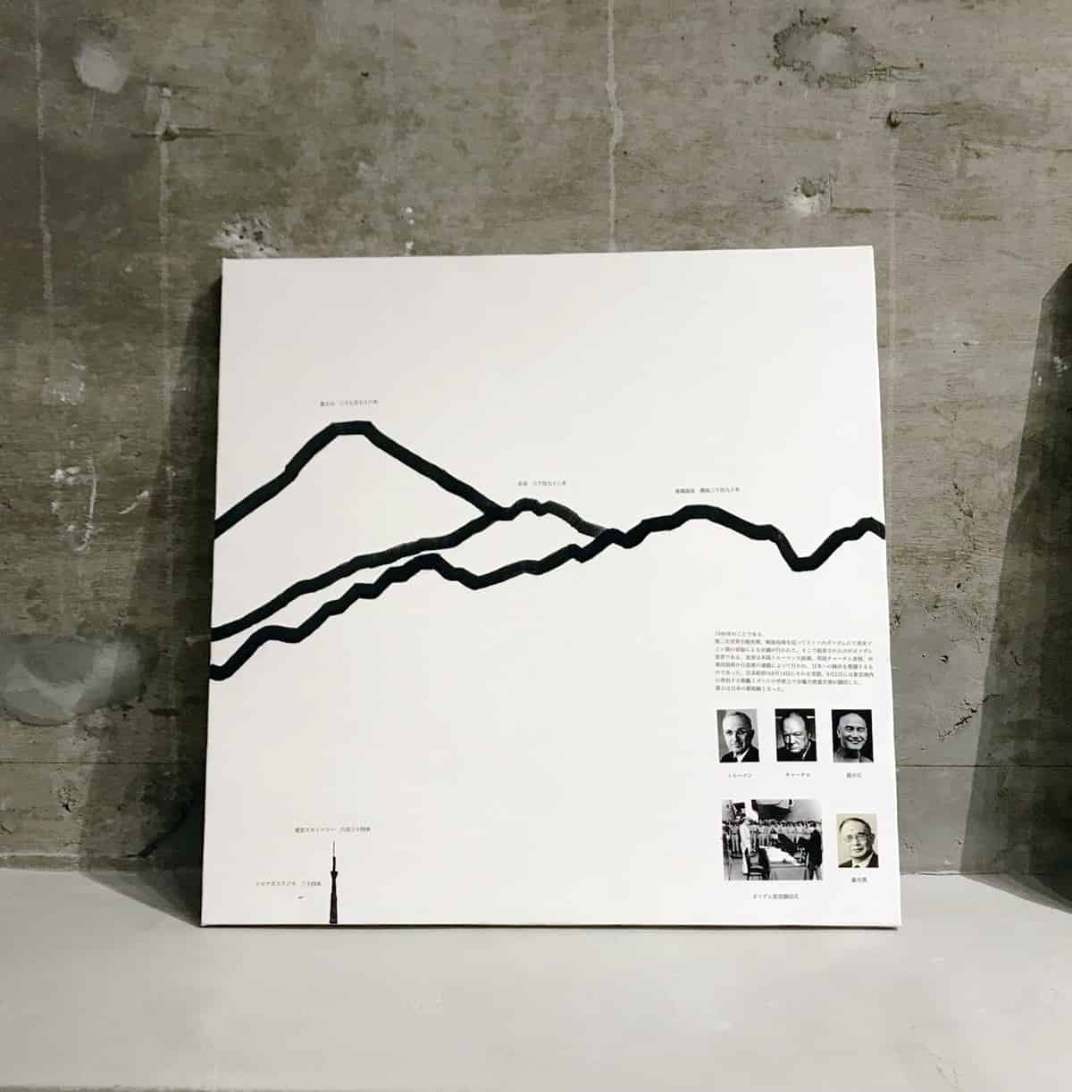 日本三大山景図 1945